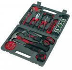 42-częściowy zestaw narzędzi MASTERKIT, czarny, czerwony