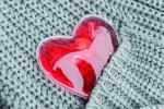 Podgrzewacz, WARM HEARTED, czerwony