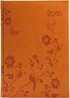 Kalendarz 2016 A5 Vivella z motywami kwiatów