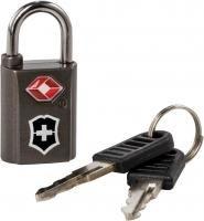 Kłódka na klucz TRAVEL SENTRY® APPR. KEY LOCK SET, szara