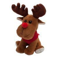 Maskotka Happy Reindeer, brązowy