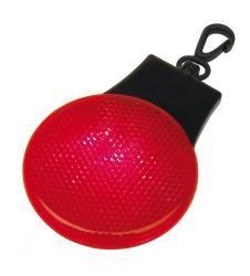 Okrągłe światło ostrzegawcze, HERE I AM, czerwony/czarny