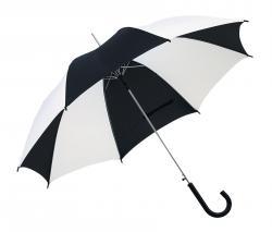 Automatyczny parasol DANCE, czarny, biały