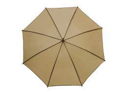 Automatyczny parasol WALTZ, beżowy, brązowy