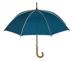 Automatyczny parasol WALTZ, granatowy, beżowy