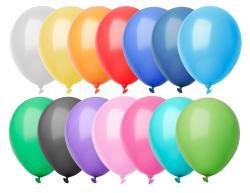 Balony, kolor pastylowy