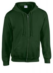 Bluza HB Zip Hooded ciemno zielony