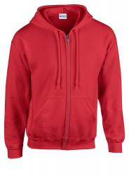 Bluza HB Zip Hooded czerwony