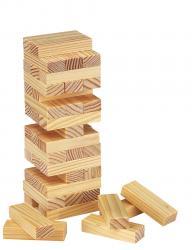 Gra zręcznościowa - wieża HIGH-RISE, drewno