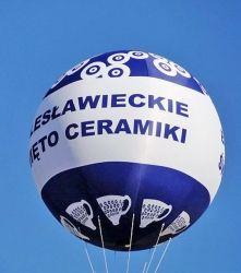 Helowy balon 4 m dwupowłokowy