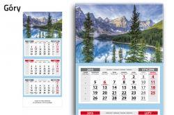 Kalendarz 2015 trójdzielny