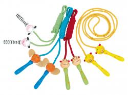 Kolorowa skakanka ANIMAL ANIMATION, czarny, niebieski, zielony, biały, żółty