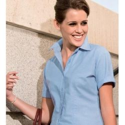 Koszula damska z kr. rękawem