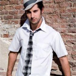 Koszula męska z kr. rękawem