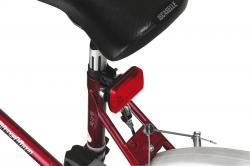 Lampka rowerowa tylna GUARD, czerwony