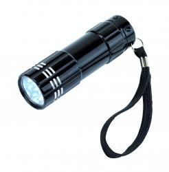 Latarka LED, POWERFUL, czarny