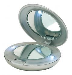 Lusterko kosmetyczne DIVA, srebrny