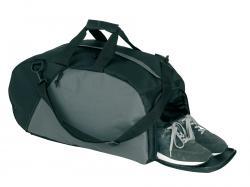 Mała torba sportowa RELAX, czarny, szary