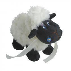 Maskotka Black Sheep, czarny/biały