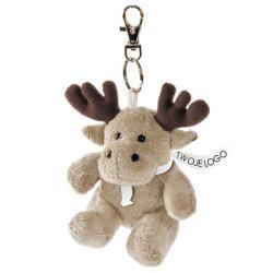 Maskotka brelok Tundra Deer, brązowy