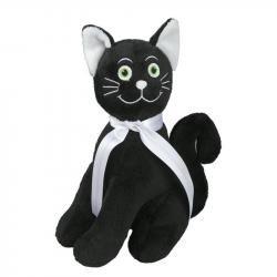 Maskotka Cat, czarny