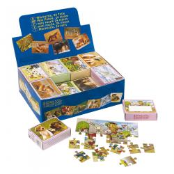Mini puzzle, SELECTION, wielokolorowy
