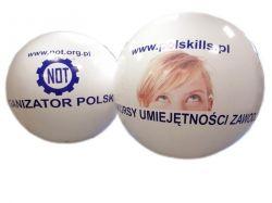Balon z helem 2,5 m średnicy, z poliuretanu