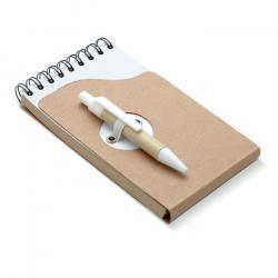 Notes z recyklingu z długopise