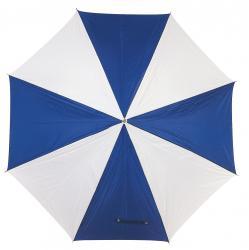 Parasol golf RAINY, niebieski/biały