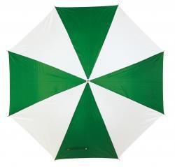 Parasol automatyczny, DISCO, zielony/biały