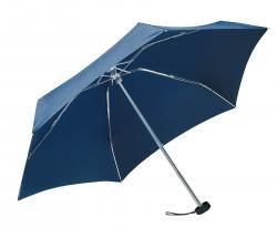Parasol mini, POCKET, szary/ciemnoniebieski