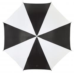 Parasol golf, RAINY, czarny/biały