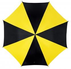 Parasol automatyczny, DISCO, czarny/żółty