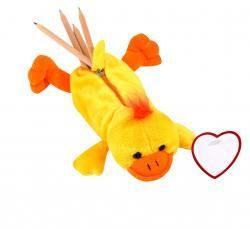 Piórnik ″Hurley″, żółto-pomarańczowy