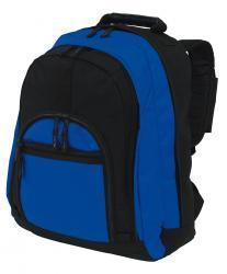 Plecak NEW CLASSIC, czarny, niebieski