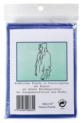 Poncho AUTUMN, niebieski