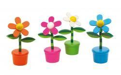 Kwiatek, FLOWER POWER, pomarańczowy/biały/ różowy/ niebieski