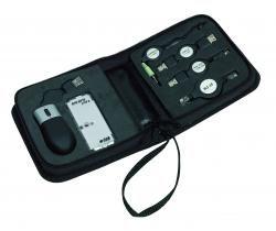 Przenośny zestaw USB, HACKER, czarny
