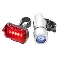 rowerowy zestaw oświetleniowy