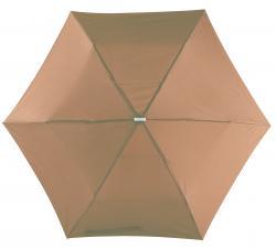 Super płaski parasol składany FLAT, brązowy