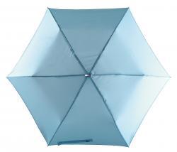 Super płaski parasol składany FLAT, jasnoniebieski