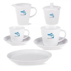 Talerz deserowy Victor Coffee Set