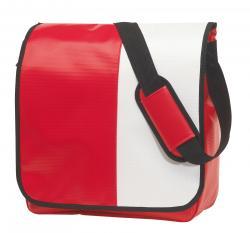 Torba na ramię ACTION, czerwony, biały