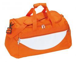 Torba na ramię CHAMP, pomarańczowy, biały