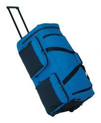 Torba podróżna na kółkach CARGO, niebieski, czarny