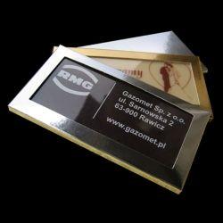 Czekoladowe wizytówki 6 mm