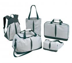 Zestaw bagaży BASIC, szary