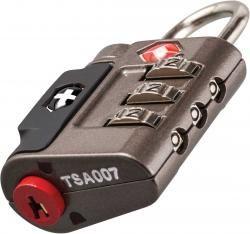 Zestaw kłódek TRAVEL SENTRY® APPR. COMB. LOCK SET, szary