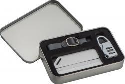 Zestaw: kłódka TSA i identyfikator