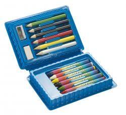 Zestaw szkolny, 14 części, ART, niebieski
